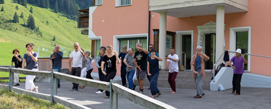 Taiji Intensiv-Seminar in den Bergen 2019